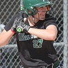 Carlie Magier and the Allen Park Jaguars had plenty to smile about on Wednesday. Allen Park defeated host Trenton 10-0 in a Downriver League battle. (MiPrepZone photo gallery by Terry Jacoby)