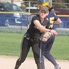 Allen Park defeated host Trenton 10-0 in softball on April 26, 2017. (MiPrepZone photo gallery by Terry Jacoby)