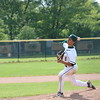 Allen Park's David Villareal pitched four innings of one-hit baseball in Saturday's 18-0 win over Edsel Ford in the district championship game.(Photo gallery for MIPrepZone by Jack VanAssche)