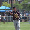 Aaron Mullins and the Riverview Pirates gave host Trenton a battle in the Division 2, District 56 semifinals on Saturday but ultimately fell by a score of 6-5. (MIPrepZone Photo Gallery by Frank Wladyslawski)