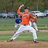 Taylor Prep starting pitcher Scott Sabuda struck out 11 batters on Wednesday against Taylor Trillium. The Tigers knocked off the Wildcats 11-1 in five innings and remained unbeaten this spring. (MIPrepZone Photo Gallery by Frank Wladyslawski)