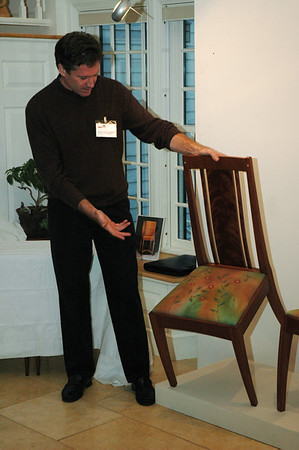 Tom McLaughlin<br /> The upholstery fabric is by Canterbury artist Jane Balshaw