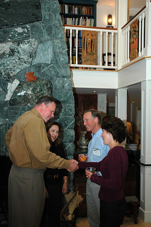 David & Janet Lamb & guests