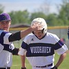 Woodhaven rallied with runs in the seventh and eighth innings to defeat Downriver League rival Gibraltar Carlson 3-2 in the district opener on Tuesday at Woodhaven. (MIPrepZone photo gallery by Ricky Lindsay)