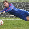 Jack Lem posted the shutout for the Red Devils. Grosse Ile scored a 5-0 win over host Riverview on Oct. 12, 2016. (MiPrepZone photo gallery by Terry Jacoby)