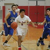 Grosse Ile defeated visiting Carlson 49-44 in overtime on Thursday, Dec. 22, 2016 in boys' basketball. (MiPrepZone Photo Gallery by Terry Jacoby)