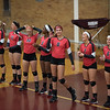Host Riverview defeated New Boston Huron 3-0, 3-1 on Wednesday in a Huron League doubleheader. (MIPrepZone photo gallery by Mimi Dorn)