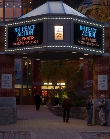 The 2007 NH Peace Action annual dinner was again held at Concord's Capitol Center for the Arts