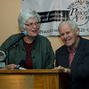 NHPA Chair Mary Lee Sargent and Don Booth