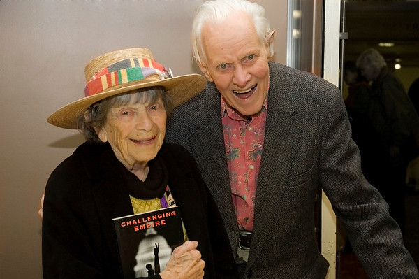 'Granny D'  with Don Booth