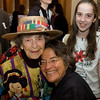 'Granny D'  with Phyllis Bennis and one of NHPA's youngest activists, Alicia Sanders-Zakre