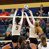 Riverview took on Gibraltar Carlson on Wednesday in the Class A, District 14 semifinals at Trenton. The Pirates swept the Marauders 3-0 and advanced to the championship game on Friday. (MIPrepZone Photo Gallery by Frank Wladyslawski)
