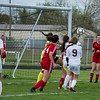 Riverview hosted Grosse Ile Monday at Riverview Community High School. The visiting Red Devils shut out the Bucs 4-0 in Huron League play. (Photo gallery for MIPrepZone by Mimi Dorn)