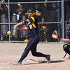 Hannah Bates and the Trenton Trojans battled back against Riverview on Saturday but fell 8-4 in the Division 2, District 56 semifinals on their home field. The Pirates went on to beat Grosse Ile 6-0 for the championship. (MIPrepZone Photo Gallery by Frank Wladyslawski)