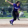 Allen Park exploded for seven runs in the fifth inning on Wednesday afternoon and ultimately knocked off visiting Woodhaven 12-3. (MIPrepZone Photo Gallery by Frank Wladyslawski)