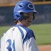 Gibraltar Carlson used two three-run innings, headlined by senior Steve McIsaac's three-run home run in the first inning, to rout Taylor Truman 8-1 in a Downriver League matchup on Wednesday, May 10, 2017. (MIPrepZone photo gallery by Ricky Lindsay)