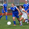 Host Trenton defeated Gibraltar Carlson 6-0 on Friday night in the Division 2, District  22 championship game. It marked the Trojans' seventh consecutive district title. (MIPrepZone Photo Gallery by Frank Wladyslawski)