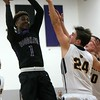 Host Woodhaven defeated Wyandotte Roosevelt 60-51 on Wednesday night in the Division 1, District 14 semifinals. (MiPrepZone photo gallery by Terry Jacoby)
