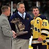 Brian Herman, Nick Stanko and the 2010-11 Wyandotte Roosevelt hockey team were all inducted into the Wyandotte Sports Hall of Fame on Saturday at the Epicurean House in Wyandotte. (News-Herald File Photo)