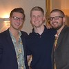 Brian Herman, Nick Stanko and the 2010-11 Wyandotte Roosevelt hockey team were all inducted into the Wyandotte Sports Hall of Fame on Saturday at the Epicurean House in Wyandotte. (MIPrepZone Photo Gallery by Frank Wladyslawski)