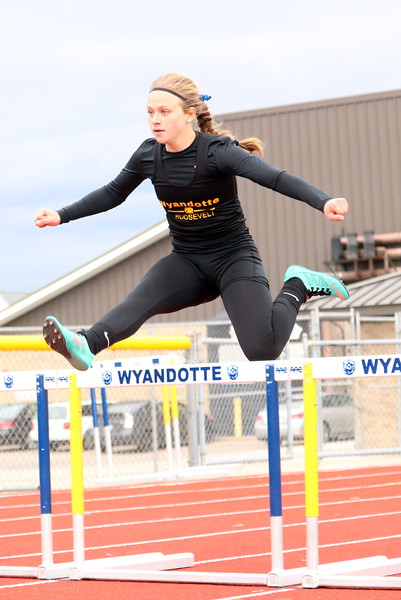 Host Wyandotte Roosevelt won a tri-meet against Southgate Anderson and Melvindale in dominant fashion on Tuesday. (MI Prep Zone photo gallery by RYAN DICKEY)