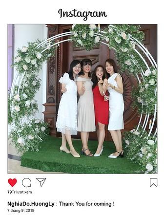 Nghia Do & Huong Ly Wedding instant print photobooth @ Cat Tuong Garden Long Khanh | Chụp hình lấy liền Tiệc cưới tại TP. Long Khánh | Photobooth Saigon