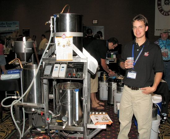 The ultimate brewing gadget: A Brewing Sculpture. They should have one of these babies in the Louvre!