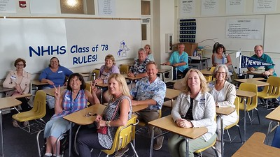 NHHS Class of 1978 40 Year Reunion Side Events