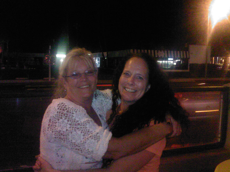 Brenda Bailey and Kari Young, after being apart for much-too-long!