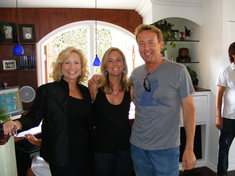 Lisa Beckley, Audrey Phillips Dunn, and Ron Schwalbe