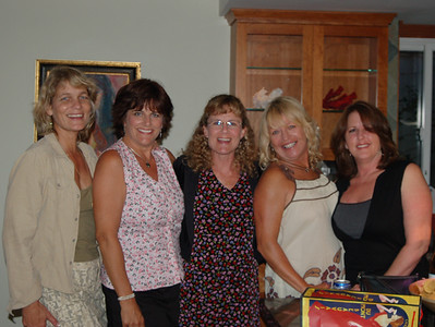 Laurie Sheflin, Tracie McBride, Andrea Herrick, Jennifer Snow, and ___________