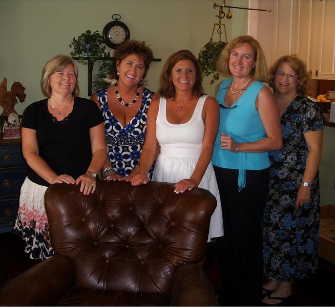 At Leslie's pre-reunion party
