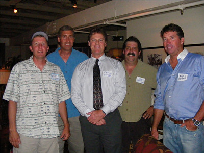 Bill Beamish, Andy McVay, Kirk Elliot, Ron Pierotti, and Mike Hogan