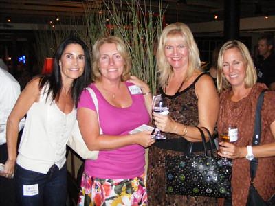 Jayne Draganza Murrel, Katrin Hecht Bandhauer, Jeannine Mansur, and Wendy De Young Gerdau