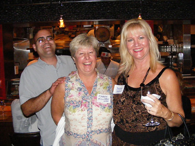 Karen Hillman and husban with Jeannine Mansur