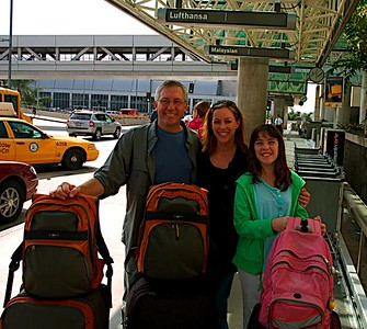Allison Udall Thomsen made a year-long World tour with her family in 2008-2009.  They had the most wonderful adventures, which can be enjoyed through their website:  www.ThomsenTravels.com