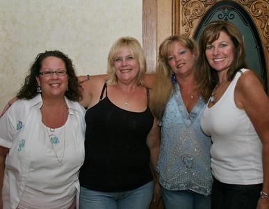 Karen Swan Conner, Robin Dense Grader, Brenda Bailey Bradley, and Ellen Mitchell Reader