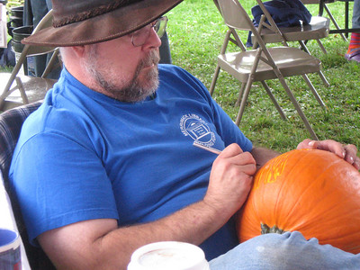 Thank you Master Pumpkin Carver Jim Flis!!! We appreciate your donation, time and art!!!