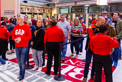 Hockey fans enter the BB&T Center in Sunrise to watch the Florida Panthers host the Vancouver Canucks on January 9, 2020. The Panthers would go on to beat the Canucks 5-2. [JOSEPH FORZANO/palmbeachpost.com]