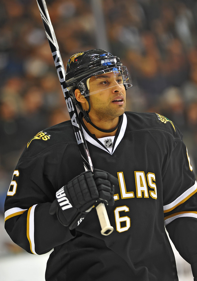 Dec 31st, 2009:  <br /> Dallas Stars defenseman Trevor Daley #6<br /> in a game between the Anaheim Ducks and the Dallas Stars at the AAC in Dallas, Texas.<br /> Stars win 5-3