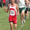Melvindale's Alan Nava (18th, 17:37.13). Lake Erie Metropark hosted the annual high school boys' cross country Regional on Saturday, Oct. 29, 2016. (MiPrepZone photo gallery by Terry Jacoby)