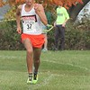 Dearborn senior Riad Rababeh ran away with the Division 1 boys' race.  Lake Erie Metropark hosted the annual high school boys' cross country Regional on Saturday, Oct. 29, 2016. (MiPrepZone photo gallery by Terry Jacoby)