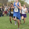 Carlson's Billy Brinker (13th, 16:57.50) landed in the state finals. Lake Erie Metropark hosted the annual high school boys' cross country Regional on Saturday, Oct. 29, 2016. (MiPrepZone photo gallery by Terry Jacoby)