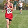 Grosse Ile was led by James Gedris (second, 16:23.23). Lake Erie Metropark hosted the annual high school boys' cross country Regional on Saturday, Oct. 29, 2016. (MiPrepZone photo gallery by Terry Jacoby)