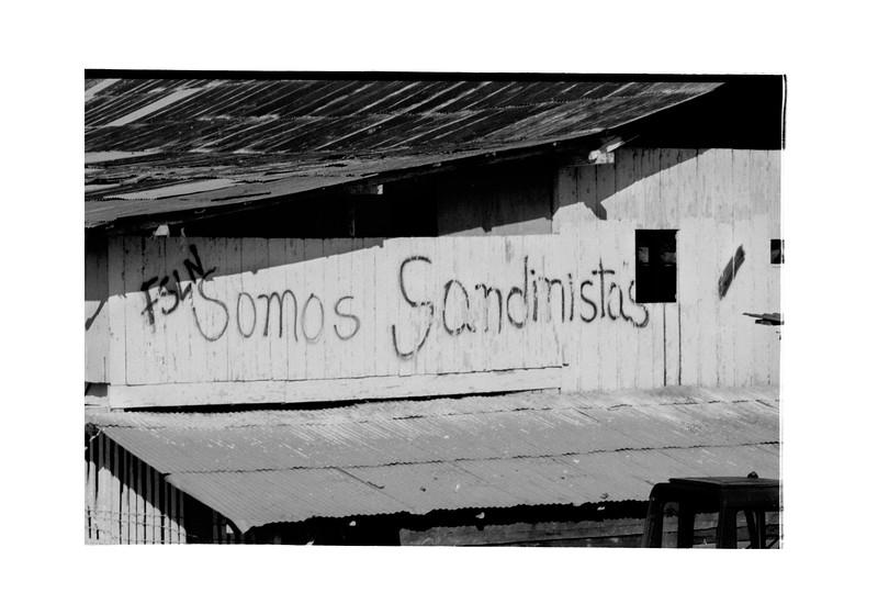 FSLN, Somos Sandinistas on the Coffee Cooperativa