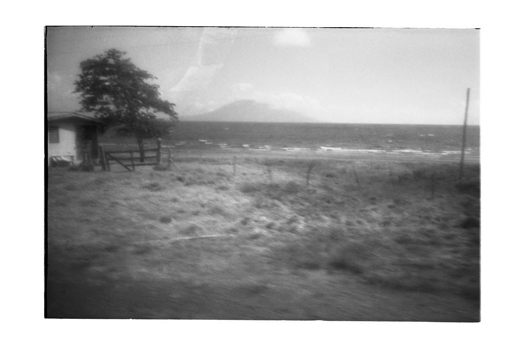 Volcano and Lake Managua