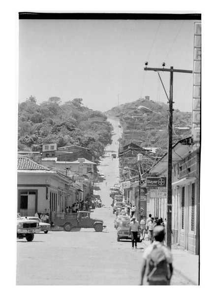 Road Into Matagalpa