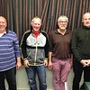 2016 NICKO Plate winners - British Rail A: Roger Mallinson, Peter Kelly, Andy Wells & Alex Hogg (Sheila Kelly and Cedric Cockcroft played in some of the earlier rounds)