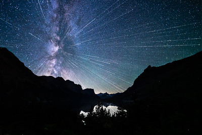 EXPLOSIVE GLACIER SKIES