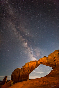 Broken Arch and The Milky Way